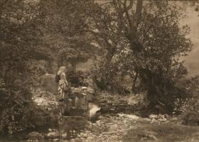 Henry Peach Robinson - The Stream in Summer