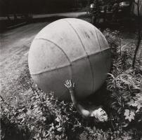 Boy with Giant Ball, New York, 1969