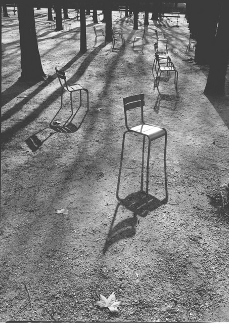 Stanko Abadžic - Chairs and Shadows