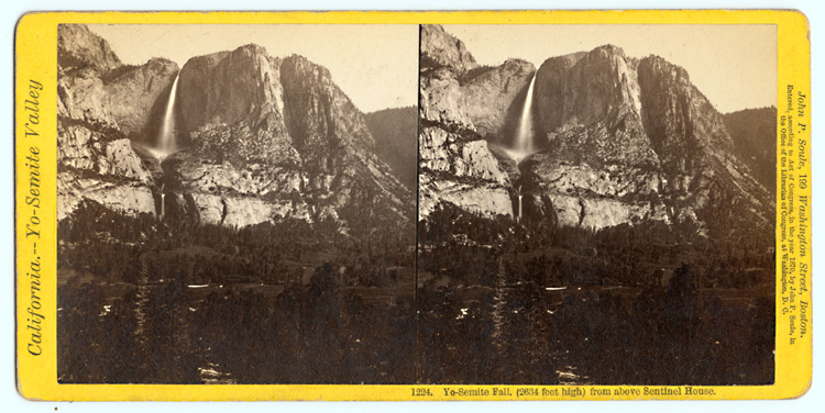 John P. Soule - California--Yo-Semite Valley