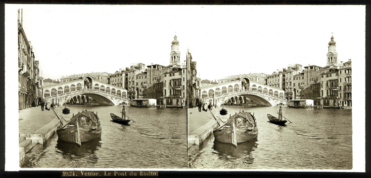 Anonymous - Two Views of Venice, Italy
