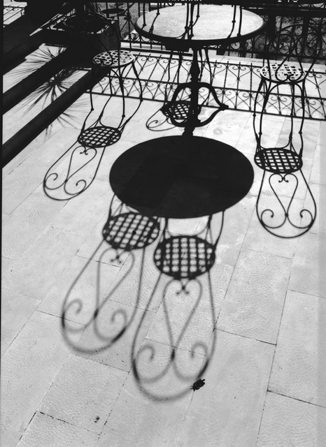 Stanko Abadžic - Chairs, Table and Shadows