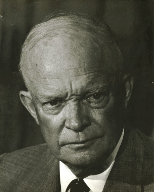 Robert Phillips - Large Portrait of President Dwight D. Eisenhower (