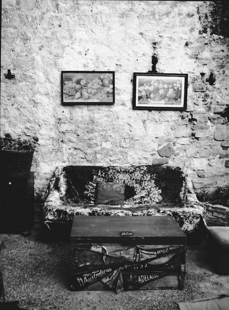 Stanko Abadžic - Couch and Wall