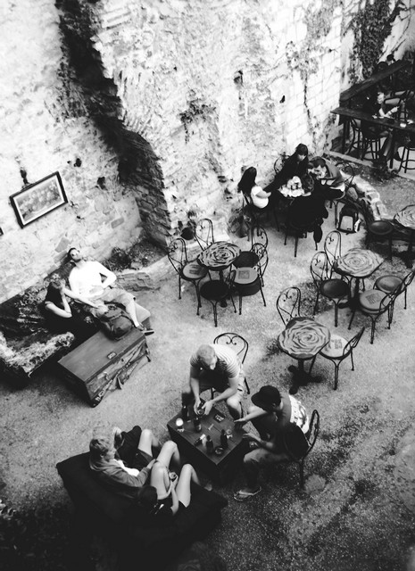 Stanko Abadžic - Cafe in Split, Croatia