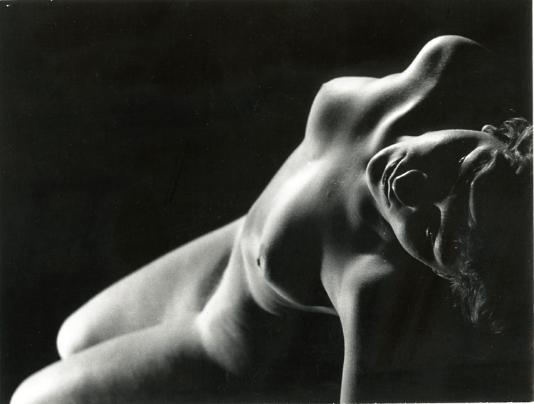 Ladislav Postupa - Female Nude (detail)