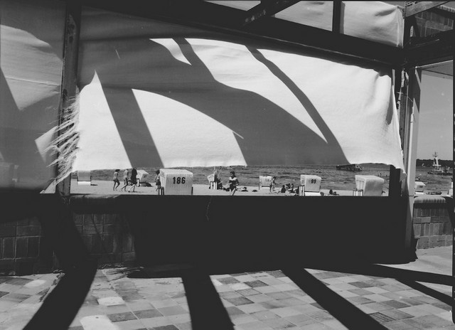 Stanko Abadžic - Shadows and Beach Scene