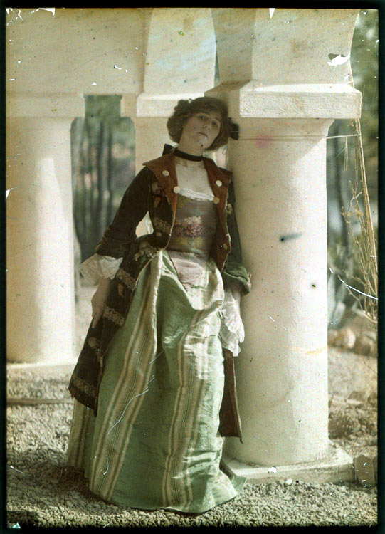 Anonymous - Woman in Historical Costume