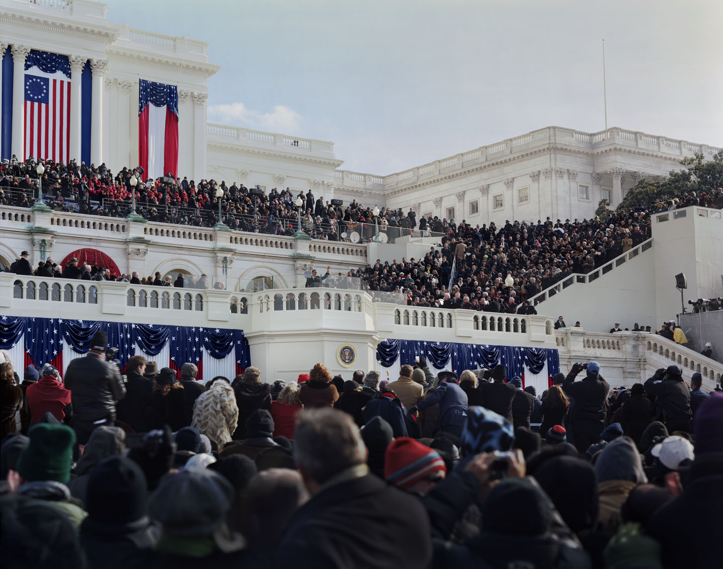 Jerry Spagnoli - Obama Inauguration (After Swearing In)