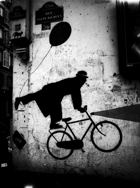 Stanko Abadžic - Bicycle Art on Wall