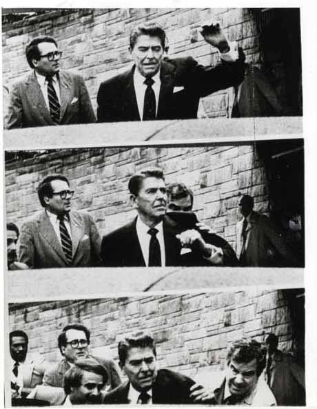 Foto EFE - Assassination Attempt on President Ronald Reagan