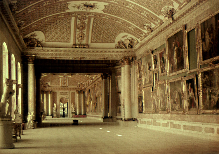 Anonymous - Interior of Palacio, Venice, Italy