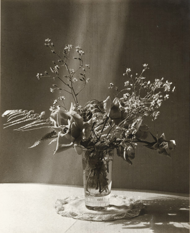 Anonymous - Still Life of Flowers in a Glass