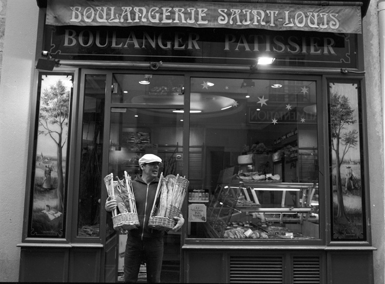 Stanko Abadžic - Bread (from the Paris Cycle)