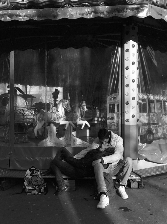 Stanko Abadžic - Kiss on a Merry-Go-Round (from the Paris Cycle)