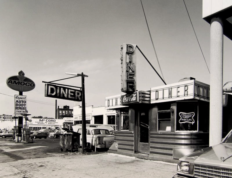 I Photo Central Photo Exhibit Tom Baril S Vintage Prints The American Diner