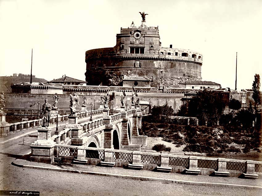 Altobelli and Moulins - Castel Sant'Angelo, Rome