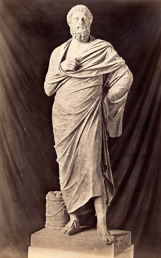 Robert MacPherson - Statue of Sophocles, Rome, Italy