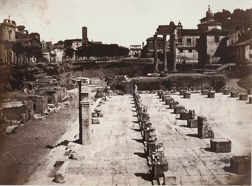Altobelli and Moulins (attributed to) - Forum, Rome, Italy
