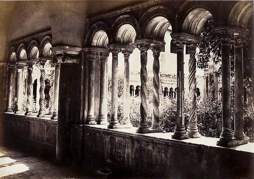 Altobelli and Moulins (attributed to) - Cloisters of Saint John Lateran, Rome, Italy