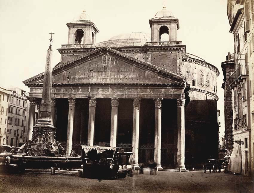 Altobelli and Moulins (attributed to) - Pantheon, Rome, Italy