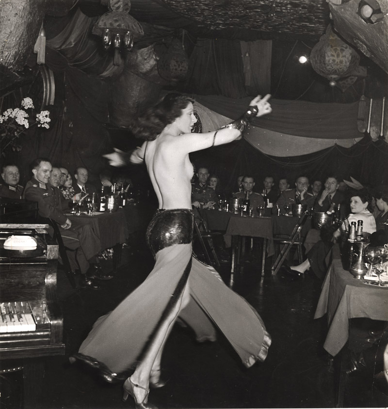 Roger Schall - German Officers at the Cabaret Shéhérazade, Paris