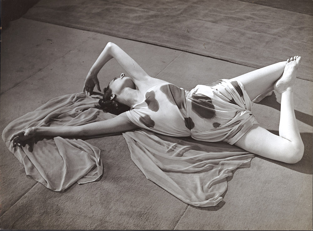 Brassai (Gyula Halasz) - Modernist Study of a Dancer Reclining