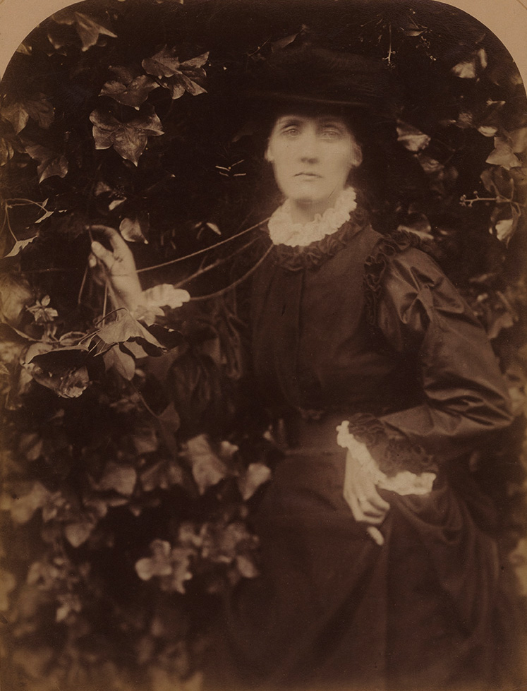 Julia Margaret Cameron - She Walks in Beauty, Julia Duckworth