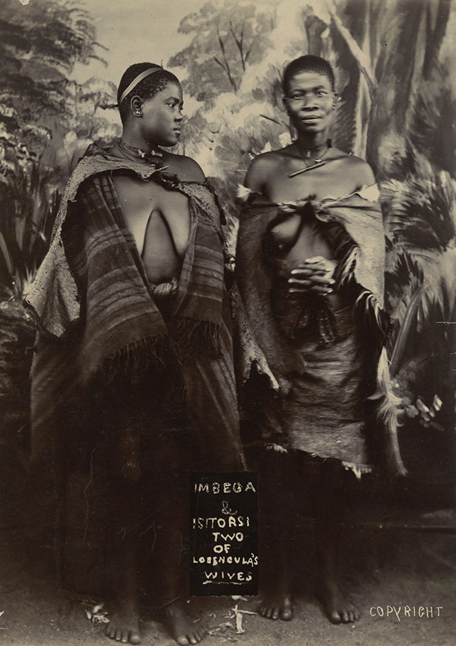 Anonymous - Imbega & Isitorsi, Two of Lobengula's Wives