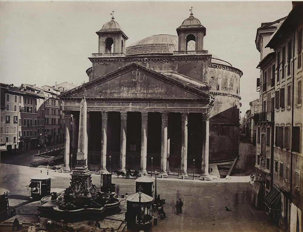 Photographer anonymous image list for Esterno pantheon