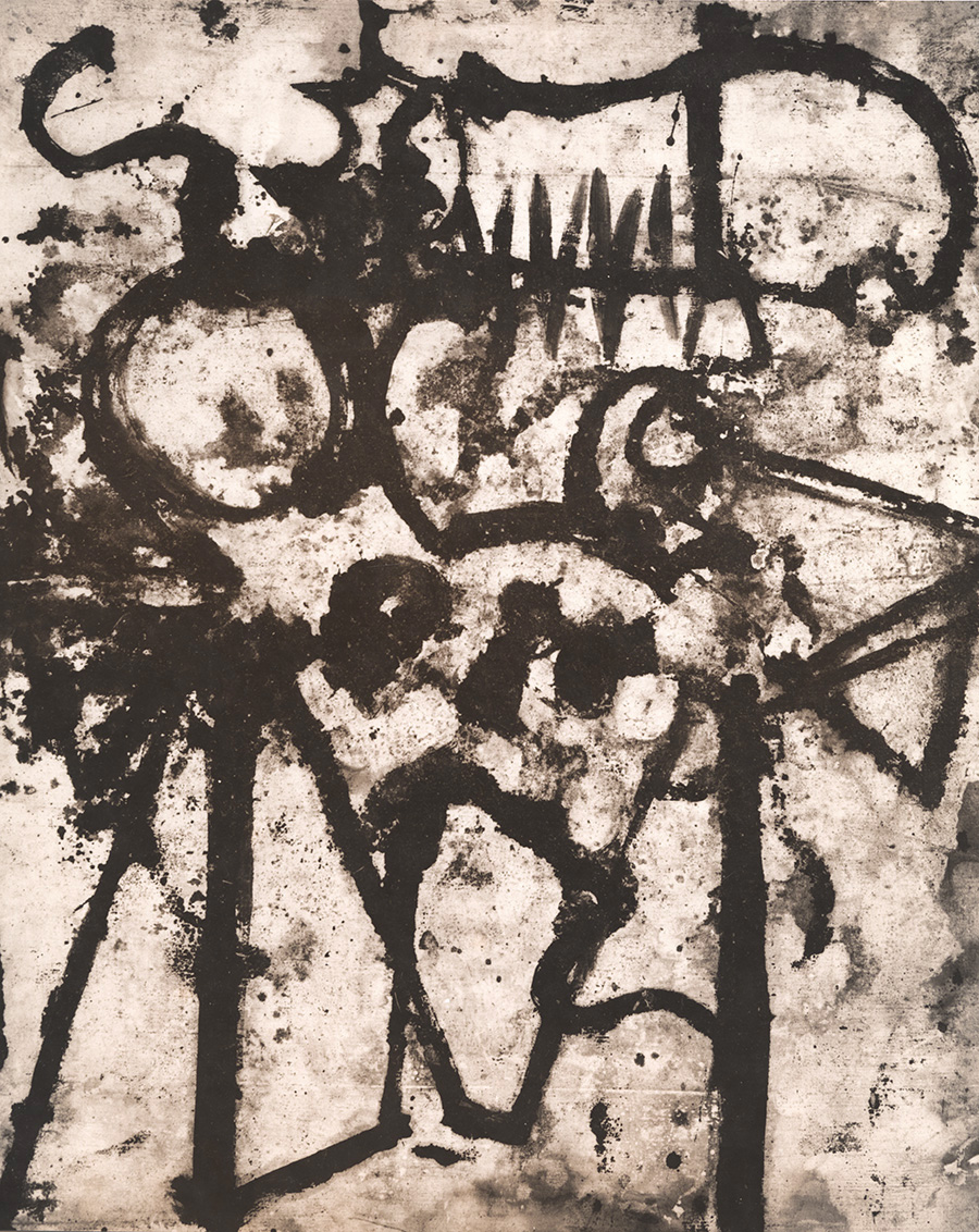 Aaron Siskind - Untitled Abstraction (Graffiti)