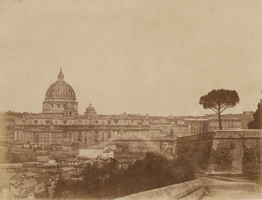 Anonymous (Circle of Caneva) - Rome and the Vatican