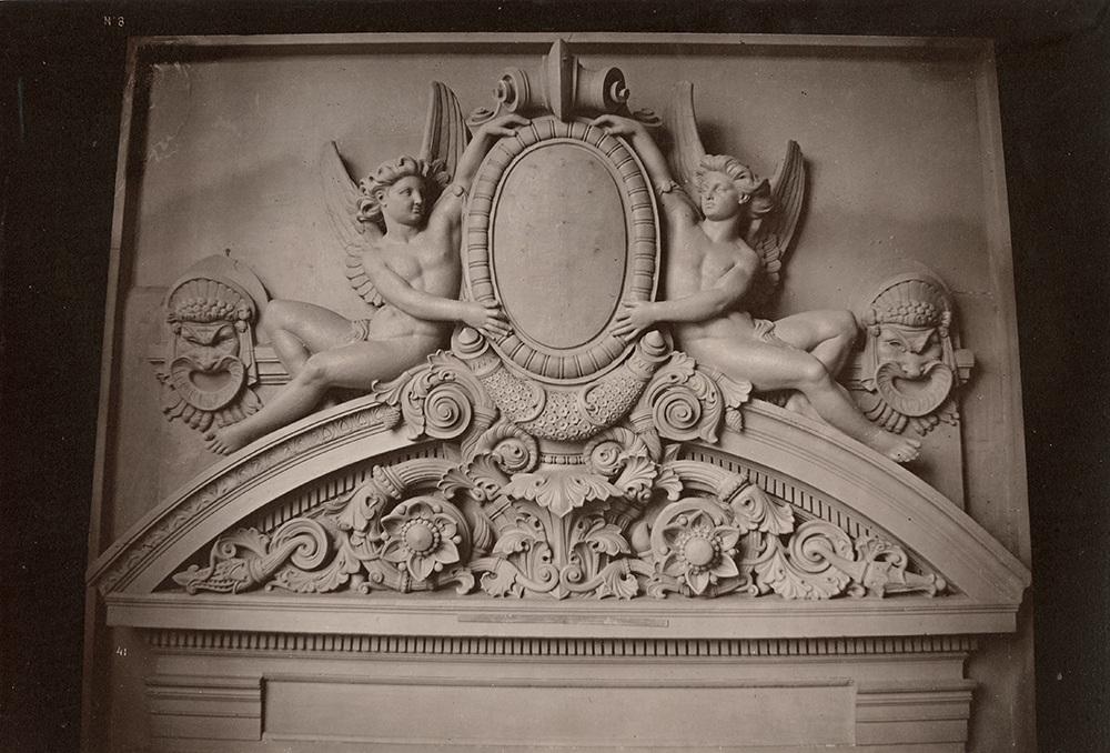 Photo Exhibit | Detail | Louis-Émile Durandelle - Le Nouvel Opera de Paris, Sculpture Ornementale
