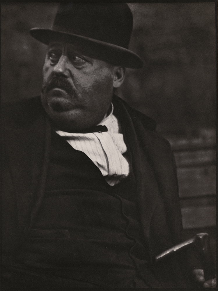 Paul Strand - New York Street Portrait