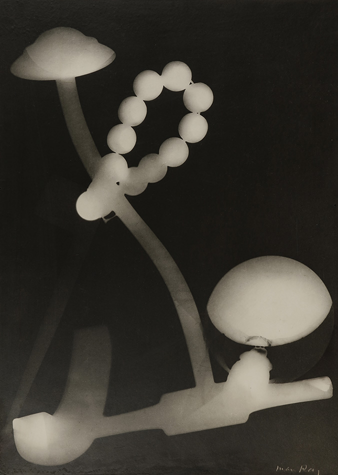 Man Ray - Untitled Rayograph