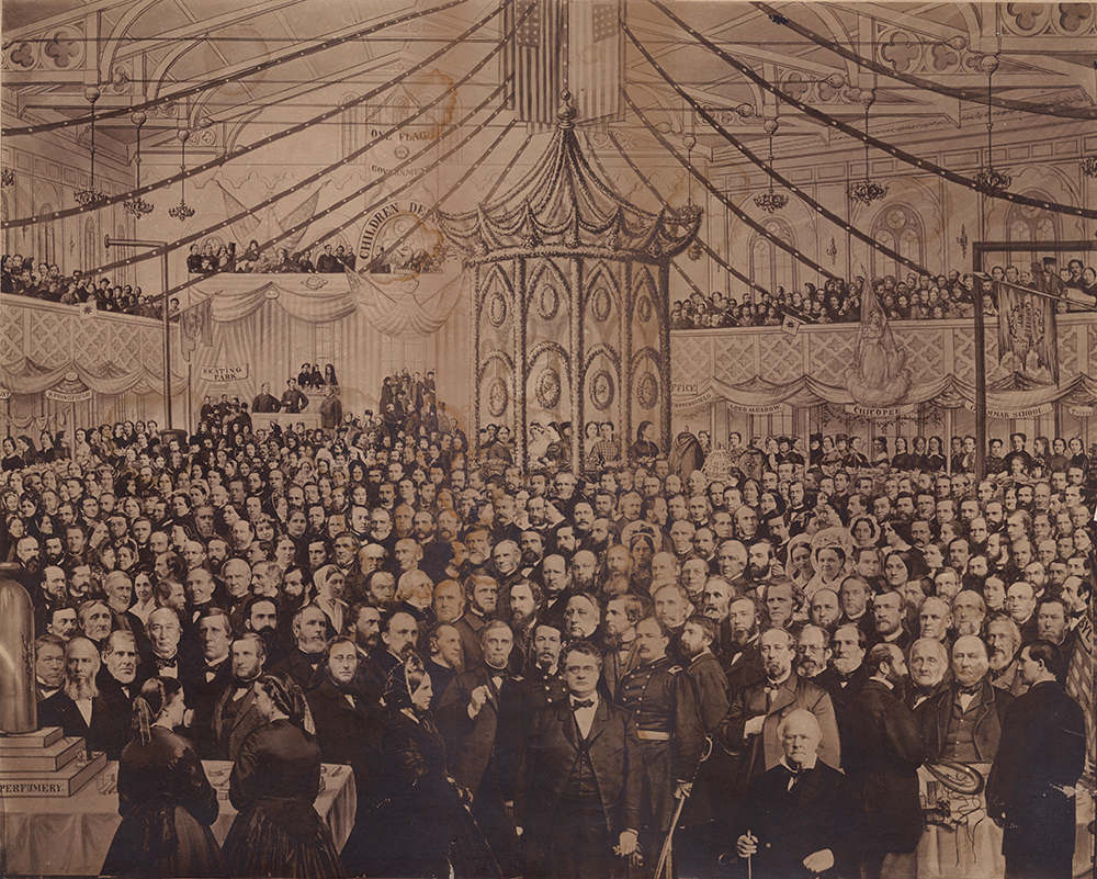 J. C. Spooner - Soldiers' Fair, In Springfield, Mass., December 22, 1864