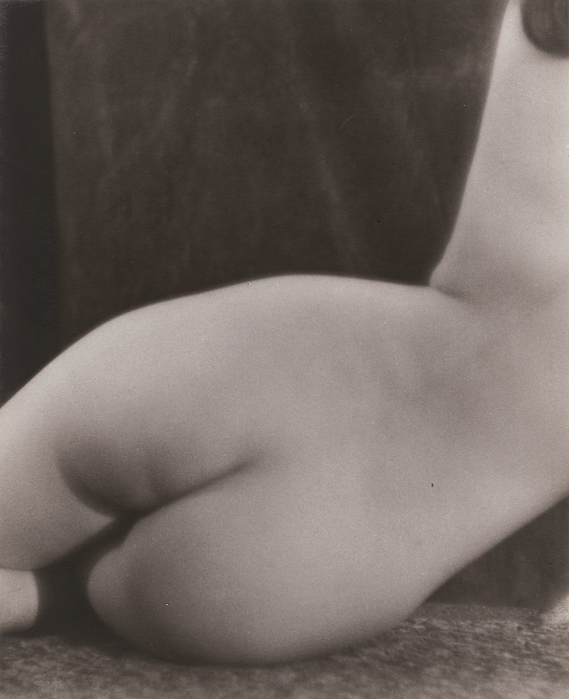 Manuel Komroff - Female Nude from Rear