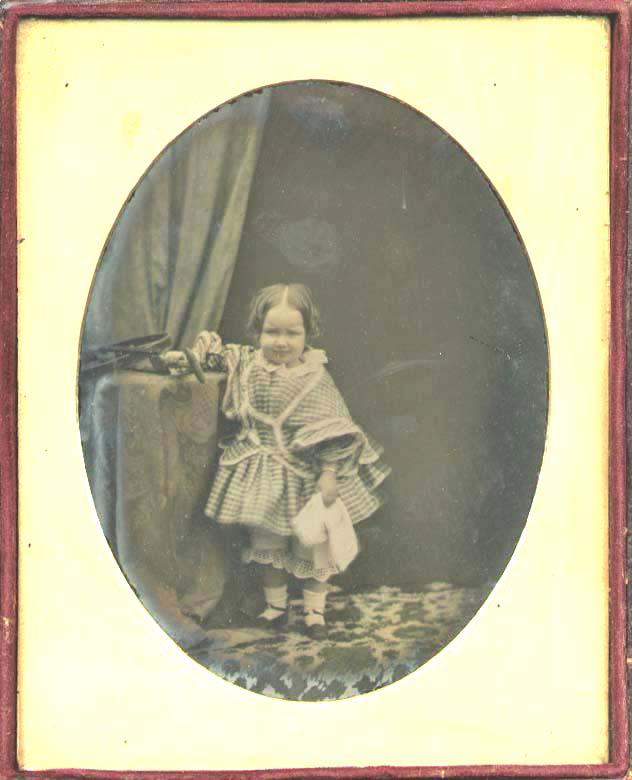 Anonymous - Little Girl with Wheeled Toy