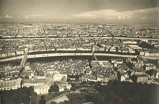 Théo and Antoine Blanc & Demilly - Panorama of Lyon, France