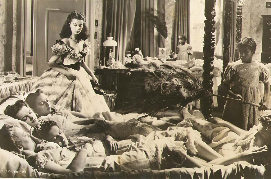 Clarence Sinclair Bull or Fred Parrish - Vivien Leigh in a Scene from Gone with the Wind