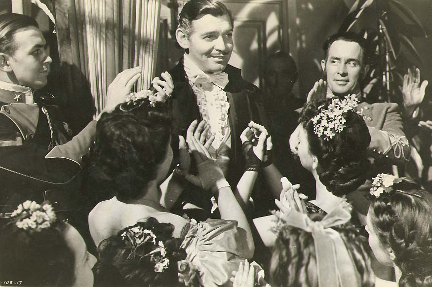 Clarence Sinclair Bull or Fred Parrish - Clark Gable as Rhett Butler in Gone with the Wind