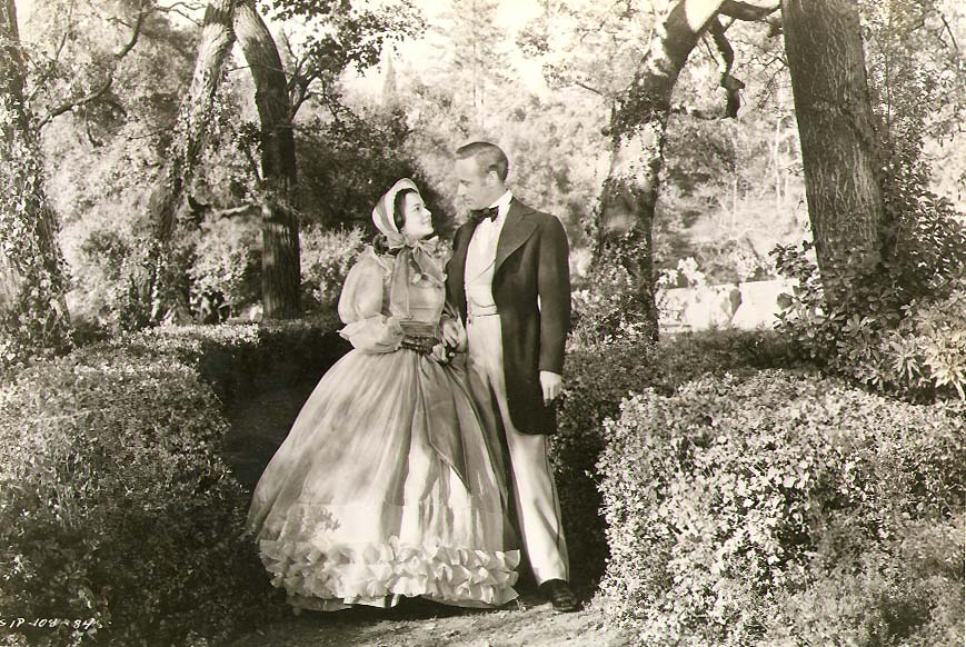 Clarence Sinclair Bull or Fred Parrish - Olivia de Havilland and Leslie Howard in Gone with the Wind