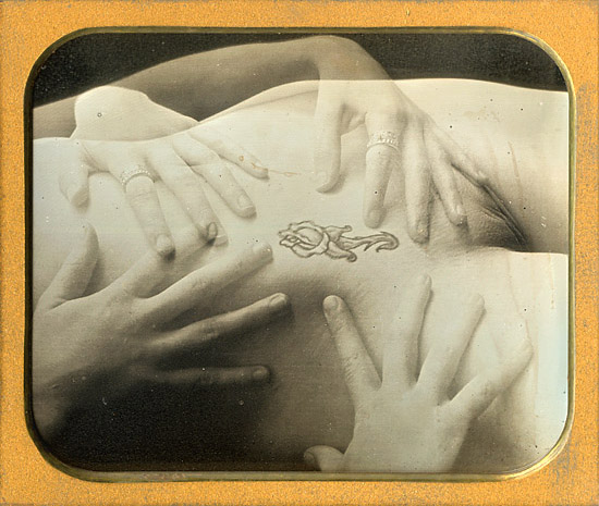 Charlie Schreiner - Fours Hand and Tatoo (Female Nude)