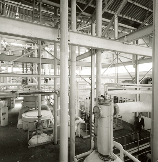 Robert Doisneau - Industrial Plant at Saint-Gobain, Le Havre, France