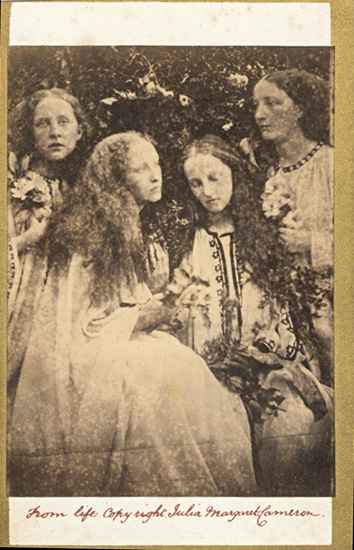 Julia Margaret Cameron - The Rose Bud Garden of Girls (Mrs. G. F. Watts and Sisters)