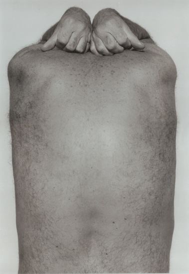 John Coplans - Self Portrait: Back and Hands