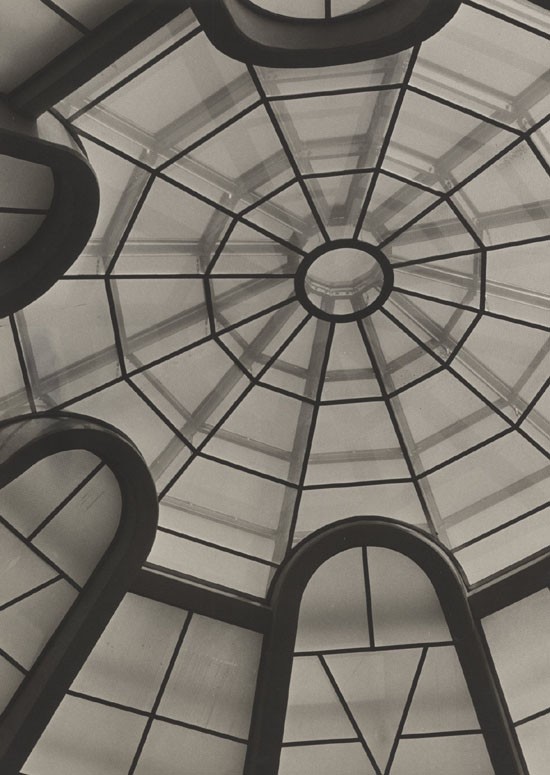George R. Hoxie - Large Abstract View of Ceiling of Guggenheim Museum