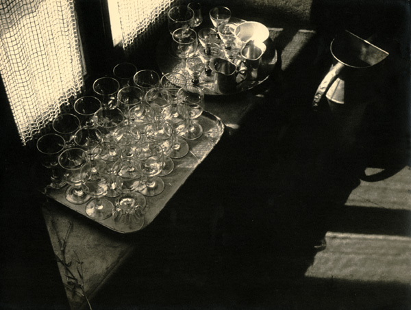 Théo and Antoine Blanc & Demilly - Glasses, Tray and Pitcher