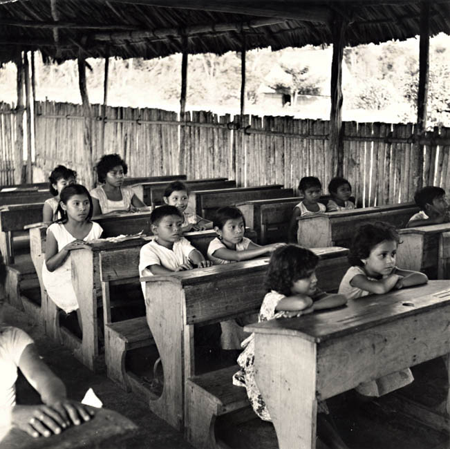 Dick Davis - Maya School Children, Yucatan, Mexico