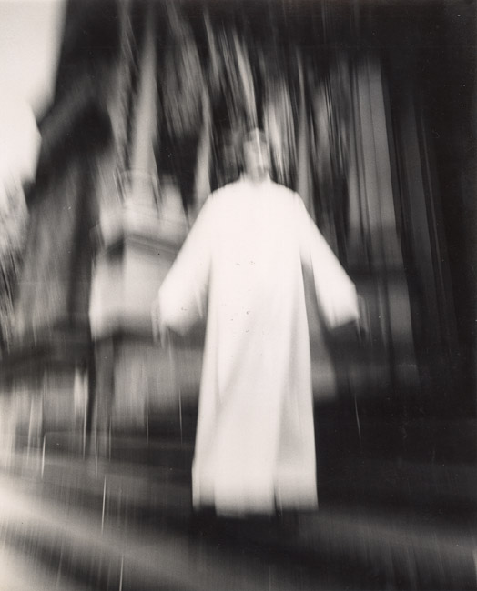 Arthur Tress - A Priest at St. John the Divine Seems to Be Flying, New York, NY